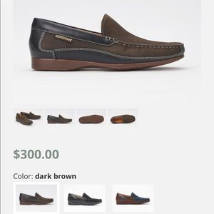 Mephisto cool air leather Moccasins